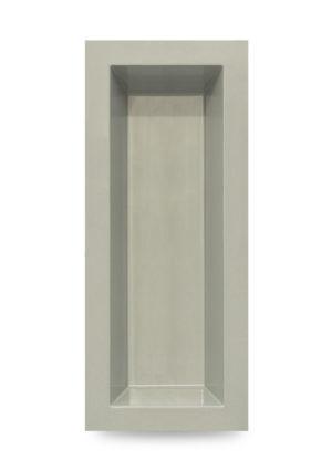 M+W Gartenflair GFK Teichbecken rechteckig 700 Liter, Farbe grau-granit