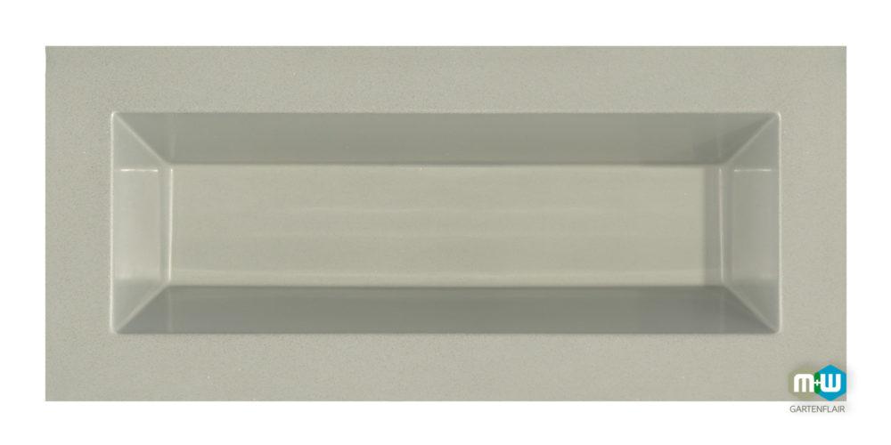 M+W-Gartenflair-GFK-Teichbecken-rechteckig-350-Liter-6069-grau-granit