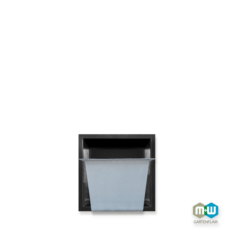 M+W Gartenflair GFK Teichbecken quadratisch 260 Liter