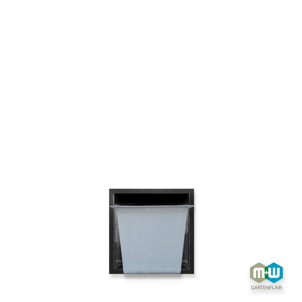 M+W Gartenflair GFK Teichbecken quadratisch 90 Liter