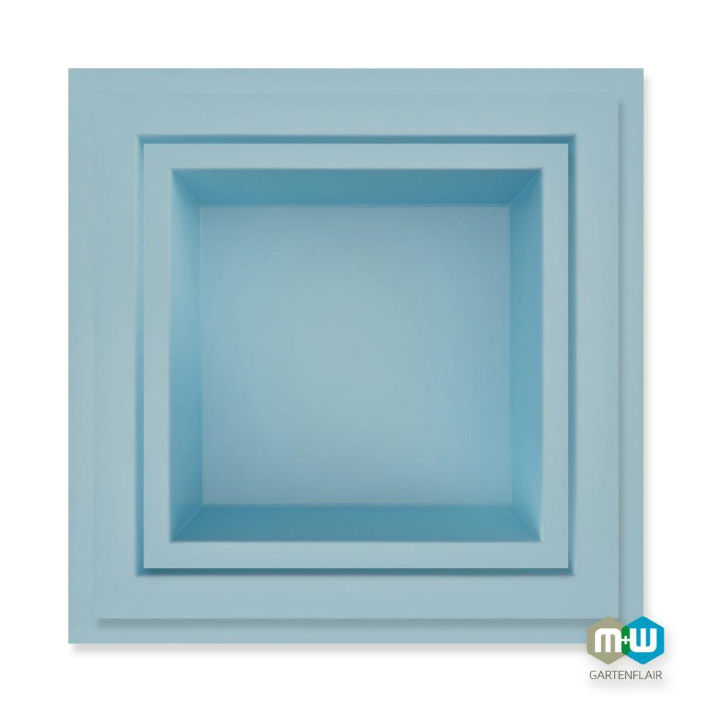 M+W-Gartenflair-GFK-Teichbecken-quadratisch-Modelübersicht-blau