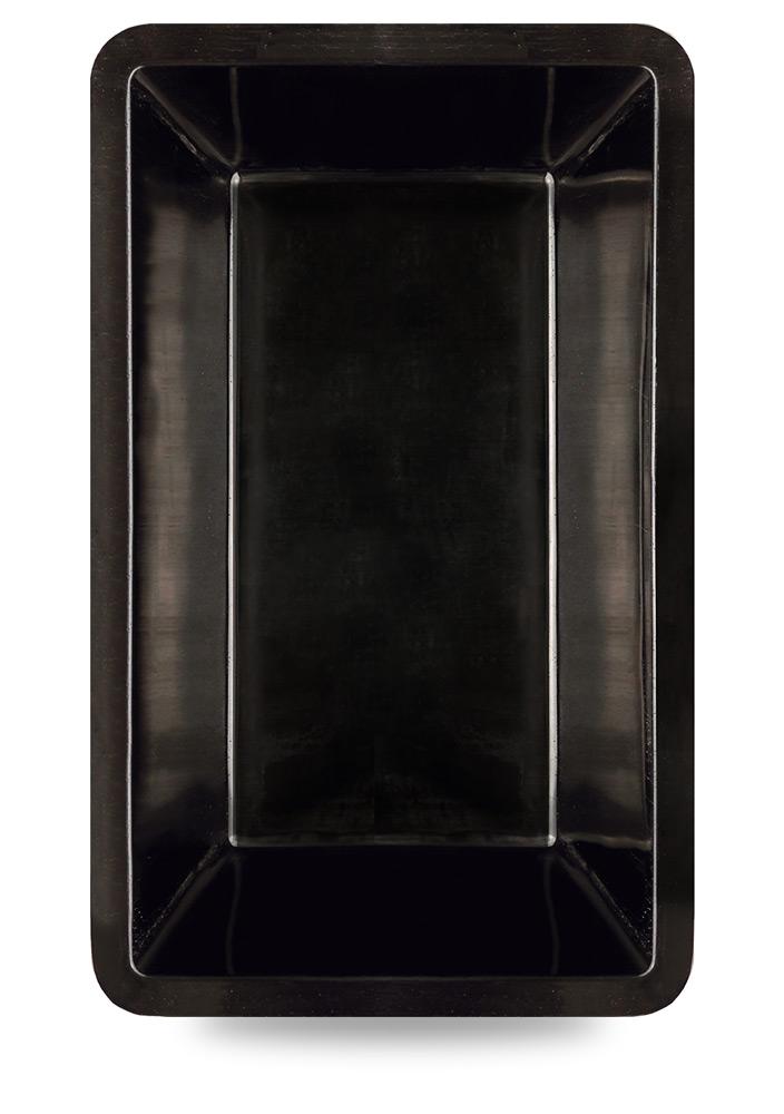 M+W Gartenflair GFK Teichbecken rechteckig 7000 Liter schwarz