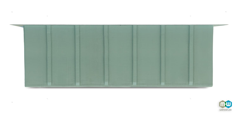 M+W-Gartenflair-GFK-Teichbecken-rechteckig-7280-Liter-Seitenansicht