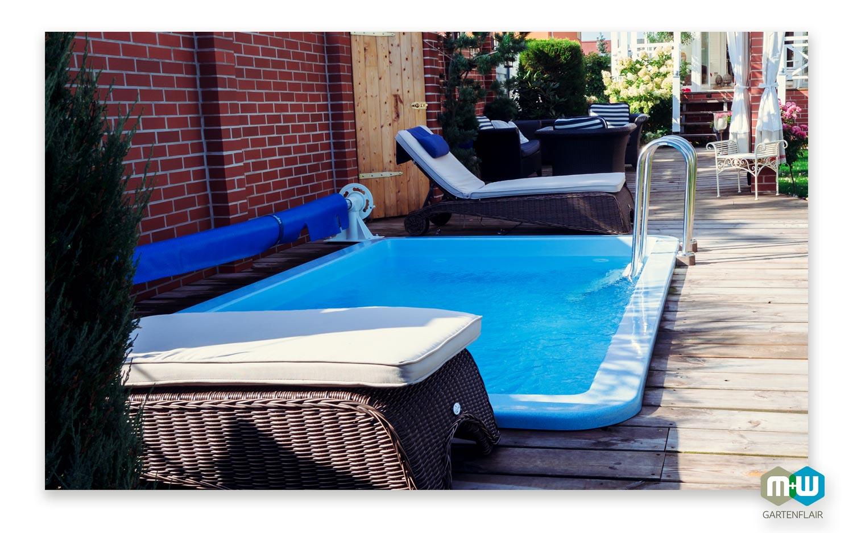 gfk teichbecken rechteckig 7000 liter formstabil langlebig hochwertig. Black Bedroom Furniture Sets. Home Design Ideas