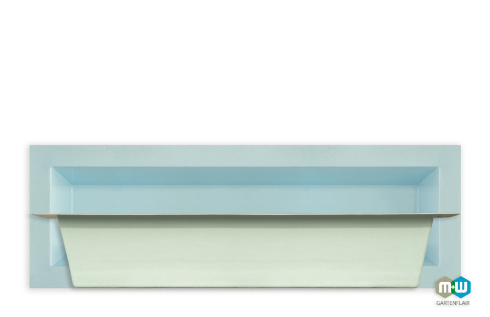 M+W-Gartenflair-GFK-Teichbecken-rechteckig-6073-875-Liter-3000x1000x520-blau-granit-Seitenansicht-1500px