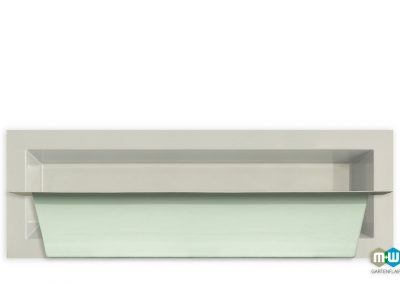 M+W-Gartenflair-GFK-Teichbecken-rechteckig-6073-875-Liter-3000x1000x520-grau-granit-Seitenansicht-1500px