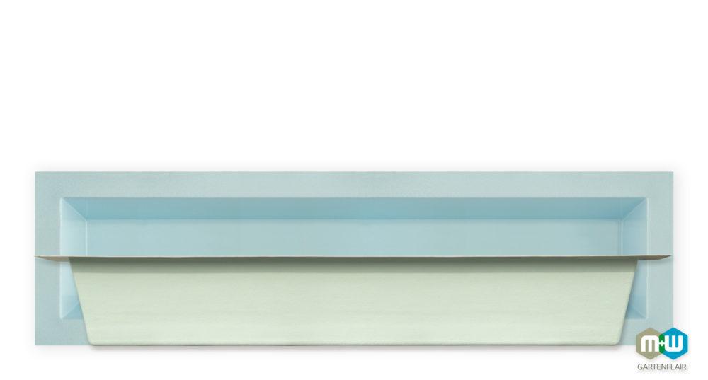 Teichbecken-Wasserbecken-rechteckig-6077-1080-Liter-3700x1000x520-blau-granit-Seitenansicht-1500px