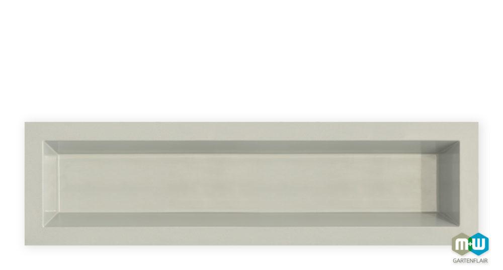 Teichbecken-Wasserbecken-rechteckig-6077-1080-Liter-3700x1000x520-grau-granit-1500px