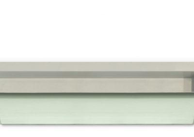 Teichbecken-Wasserbecken-rechteckig-6077-1080-Liter-3700x1000x520-grau-granit-Seitenansicht-1500px